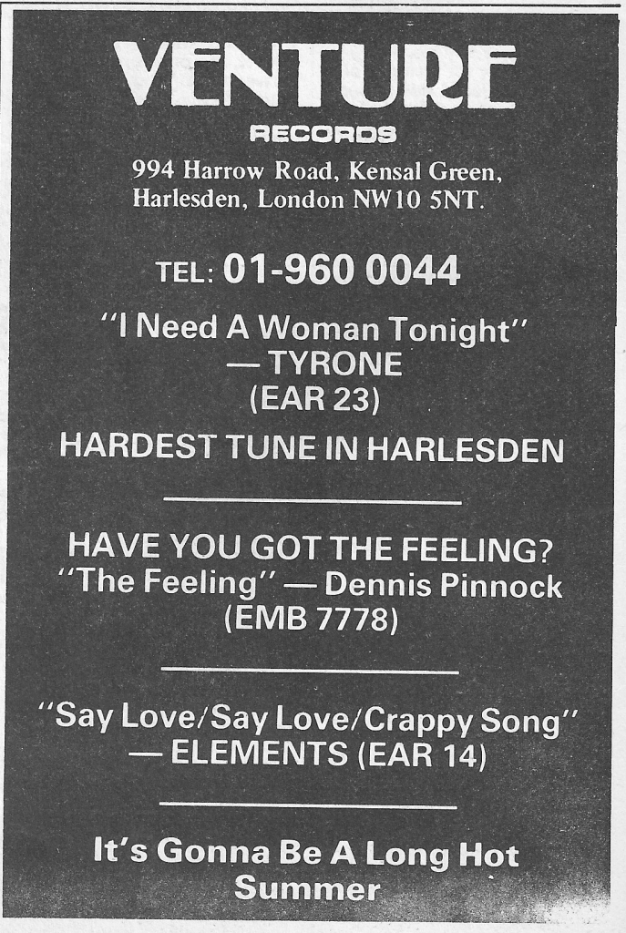 Advert for The Feeling