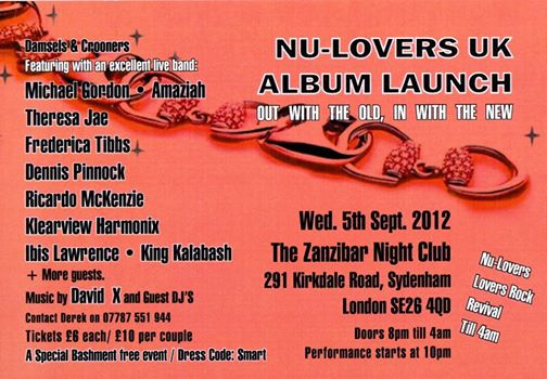 Nu Lovers album launch